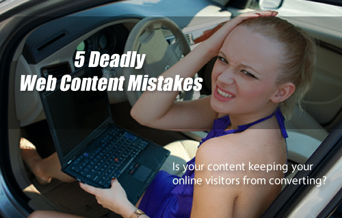 5 Mistakes Small Business Owners Make When Writing Web Content