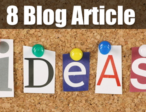 8 Ideas for Your Next Blog Post – by Michigan Internet Marketer