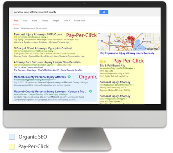 Hire a Michigan Organic SEO Company or Pay-Per-Click?